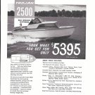 1962 Trojan Boat Company Ad- The 2500 Sea Breeze Express