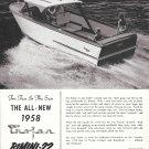 1958 Trojan Boat Company Ad- The Bimini- 22