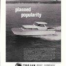 1967 Trojan Boat Company Ad- The 1968 Trojan 31'