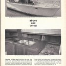 1961 Crucible Steel Company Of America Ad Featuring Owens Yacht