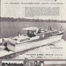 1958 Roamer Steel Boats Ad- The Royal 42 &  Riviera 42