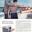 1958 Evinrude Starflite V-4 Outboard Motor Color Ad