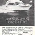 1975 Pacemaker Yacht Corp Ad- The Pacemaker 26- Specs
