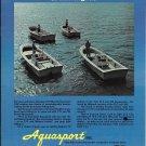 1975 Aquasport Boats Color Ad- The Aquasport 170- 19-6- 22-2 & 240