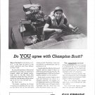 1949 Gulfpride Marine Ad- Vic Scott & His Racing Boat