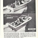 1967 Stamas Boats Inc Ad- V-24 Clearwater & V-26 Americana