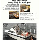 1975 Penn Yan Boats Color Ad- The 24' Deluxe Cruiser