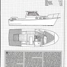 1983 Albin Marine 27' Aft Cabin Cruiser Review & Specs