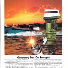 1973 Johnson Outboards Color Ad- 135 HP. V-4 Outboard Motor
