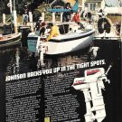 1979 Johnson Outboards Color Ad- The 4 & 9.9 HP Outboard Motors