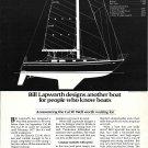 1976 Cal- Boats Ad- The Cal 39 Sailboat- Specs