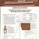1976 O'Day Sailboats Ad- The O'Day 23- Specs