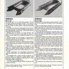 1982 Zodiac Mark I GT & Mark III GR New Boats Reviews & Specs-Photos