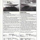 1982 Fiberform 2055 Bimini & 2555 Bermuda New Boats Reviews & Specs- Photos