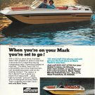 Old Mark Twain Boats Color Ad- The 162T
