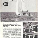 1967 Jensen Marine Ad- The Cal Cruising 46 Sailboat