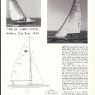 1967 Sabrecraft LTD 26' Sabre Scow Boat Review & Specs-Photo
