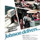1968 Johnson Outboard Motors 2 Pg Color Ad-V-100-V-851.5- 9.5