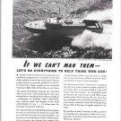 1942 WW II Kermath Marine Engines Ad-Miami Shipbuilding PT Boat
