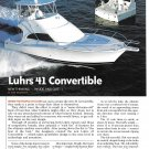 2004 Luhrs 41 Convertible Yacht Review & Specs- Photos