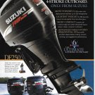 2004 Suzuki Marine Color Ad- The 4 Stroke 250 HP Outboard Motor