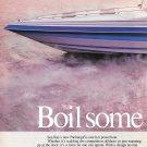 1986 Sea Ray Boats 2 Page Color Ad- The Pachanga