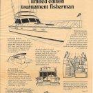 1977 Egg Harbor Boat Company Ad- 40' Tournament Fisherman