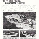 1961 Chris- Craft Cavalier Boats Ad- Cavalier 25'