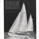 1945 Truscott Boat & Dock Co Ad- Truscott H28 Sailboat