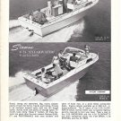 1966 Stamas Boats Inc Ad- The V-24 Clearwater & V-26 Americana