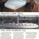 1984 Pearson 422 Yacht Color Ad