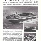 1964 Chris- Craft Boat Company Ad- Nice Photo of Corsair
