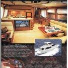 2004 Hampton Yachts Color Ad- Nice Photos of 558 Pilothouse