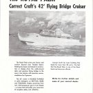 1953 Correct Craft Inc Boats Ad- Photo of Royal Palm 42' Cruiser