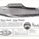 1945 Steelcraft 26' Boat Ad- Nice Photo- Specs