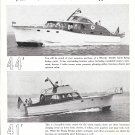 1951 Wheeler Shipyard Company Ad- Nice Photos of 44' & 41' Models