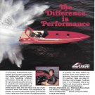 1987 Fountain Powerboat Color Ad- Nice Photo