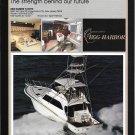 1987 Egg Harbor 60' Sport Fisherman Yacht Color Ad- Nice Photo