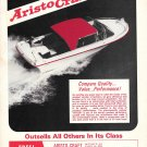 1971 Aristo- Craft 19 Boat Ad- Nice Photo