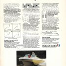 1971 Wellcraft Marine Airslot Boat Color Ad- Photo