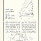 1971 Jay R Benford 17' Concrete Catboat Review & Specs