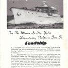 1957 Feadship 90' Yacht Ad- Nice Photo