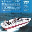 1994 Donzi Marine Color Ad- Nice Photo 212 Medallion Boat