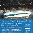 1994 Donzi Marine Color Ad- Nice Photo 210 Medallion Boat