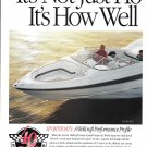 1994 Wellcraft Marine 2 Page Color Ad- Nice Photos 7 Models