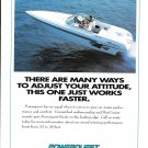1994 Powerquest Boat Color Ad- Nice Photo