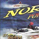 2003 Nordic Powerboats 2 Page Color Ad- Nice Photo