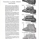 1925 Scripps Marine Motors Ad- Photos of 5 Models