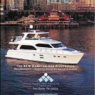 2012 Hampton 620 Pilothouse Yacht Color Ad- Nice Photo