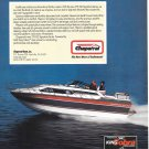 1987 Chaparral 278XLC Boat Color Ad- Nice Photo